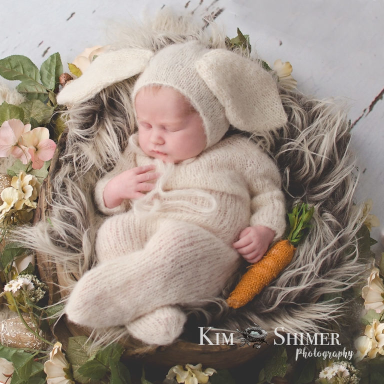 baby photography NH easter baby photos